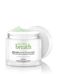 Philosophy Take A Deep Breath Oil Free Oxygen Infused Gel Cream 2.0 Oz. No Color