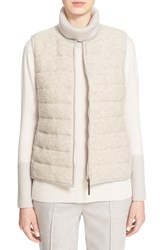 Women's Fabiana Filippi Boucle Front Quilted Vest