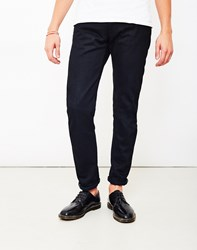 Edwin Ed 55 Relaxed Tapered White Listed Black Selvage Denim Unwashed Navy