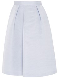 Ted Baker High Waisted Midi Skirt Blue