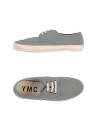 Ymc You Must Create Low Tops And Trainers Grey