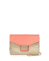 Milly Colby Crossbody Bag Coral Gold