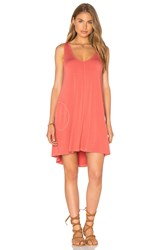 Feel The Piece Freebird Tank Mini Dress Orange