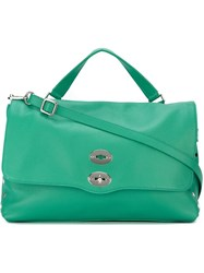 Zanellato Oversized Shoulder Bag Green