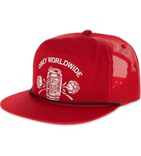 Obey Good Time Since 1989 Trucker Cap Red