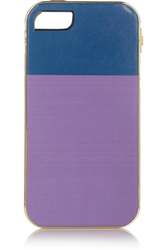 Finds Lily Kwong The Sam Two Tone Leather Iphone 5 Cover Net A Porter.Com