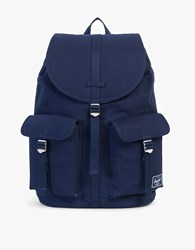 Herschel Dawson Cotton Twill Surplus Navy