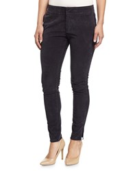 James Perse Split Hem Corduroy Skinny Pants Railing Pigment