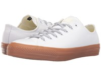 Converse Chuck Taylor All Star Pro Shield Canvas Ox White Egret Gum Lace Up Casual Shoes