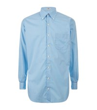 Peter Millar Mini Tattersal Check Shirt Male Blue