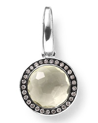 Ippolita Sterling Silver Lollipop Charm Turquoise