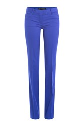 Barbara Bui Wool Pants Blue