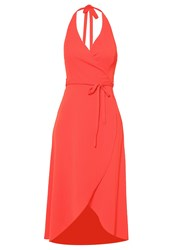 New Look Summer Dress Bright Red