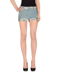 Moschino Couture Denim Shorts Blue