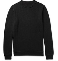 The Elder Statesman Statesan Cashere Sweater Black