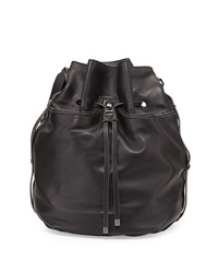 Kooba Frankie Drawstring Bucket Bag Black