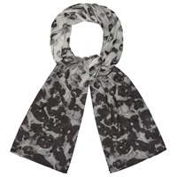 Phase Eight Phoebe Printed Scarf Charcoal
