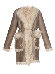 Tomas Maier Reversible Shearling Coat