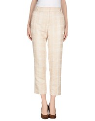 Tory Burch Trousers Casual Trousers Women Sand