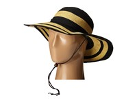 San Diego Hat Company Rbl4783 4.5 Sun Brim Hat With Adjustable Chin Cord Black Caps