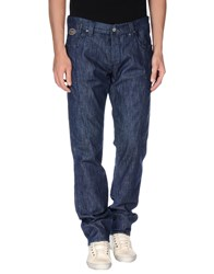 Chiribiri Denim Denim Trousers Men Blue