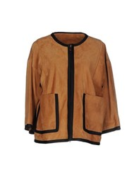 Jucca Coats And Jackets Jackets Women Light Brown