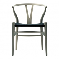 Wishbone Chair Oak With Black Cord Seat