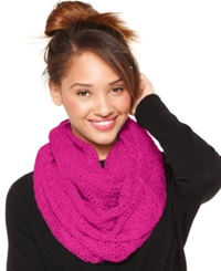 Collection Xiix Thick And Thin Slub Lightweight Loop Scarf Gala Pink