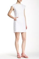 Marc By Marc Jacobs Fray Dress White