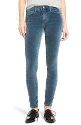 Current Elliott Women's The Ankle Velveteen Skinny Pants