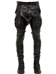 Alexandre Plokhov Nappa Leather Cargo Pants
