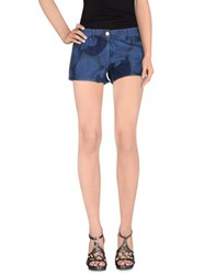 Armani Jeans Denim Denim Shorts Women Blue