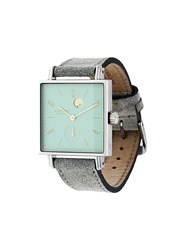 Nomos 'Tetra Kleene' Analog Watch Green