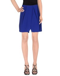 Emporio Armani Skirts Knee Length Skirts Women Bright Blue