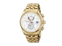 Citizen Fc0002 53A Eco Drive World Time A T Gold Tone Stainless Steel Dress Watches