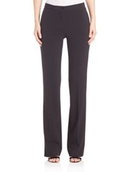 Alberta Ferretti Straight Leg Pants Black