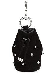 Alexander Wang 'Roxy' Bag Keyring Black