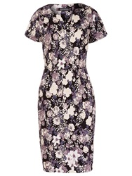 Sugarhill Boutique Grace Floral Dress Neutral