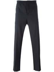 Msgm Piping Detail Track Pants Blue