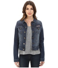 Hudson Signature Jean Jacket In Timberland Timberland Women's Jacket Blue