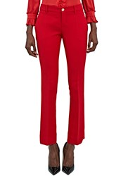 Gucci Slim Cropped Suiting Pants Red