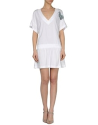 Michalsky Short Dresses White