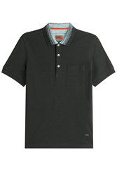Missoni Cotton Polo Shirt Green