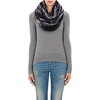 The Elder Statesman Women's Itsa Monster Neck Warmer Grey