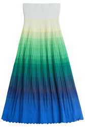Missoni Crochet Knit Maxi Skirt Multicolor