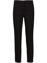 Protagonist Zipped Cuff Cigarette Trousers Black