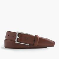 J.Crew Leather Dress Belt English Tan