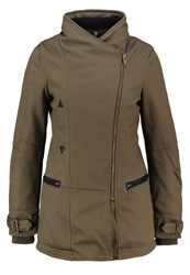 Khujo Mashpe Short Coat Beech Green Oliv
