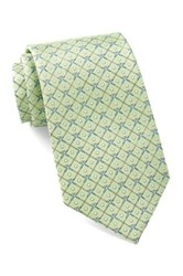 Tailorbyrd Silk Golf Club Tie Green