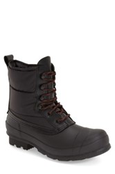 Hunter 'Original' Quilted Boot Men Black